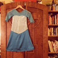 The finished dress.