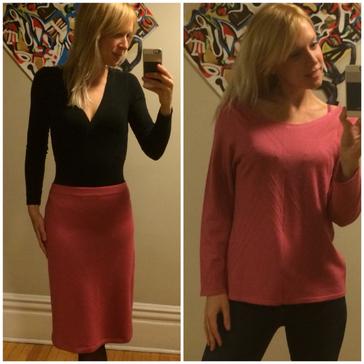 The Pink Grazia Outfit (Sewing-It-Forward)