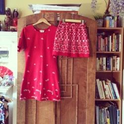 After- T-shirt dress and Mini skirt