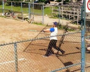 Etienne up at bat.