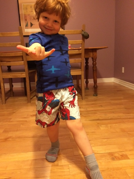 Spiderboy Felix & his sweet webbing moves!