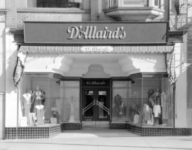 D'Allaird's Boutique- Vancouver, Canada