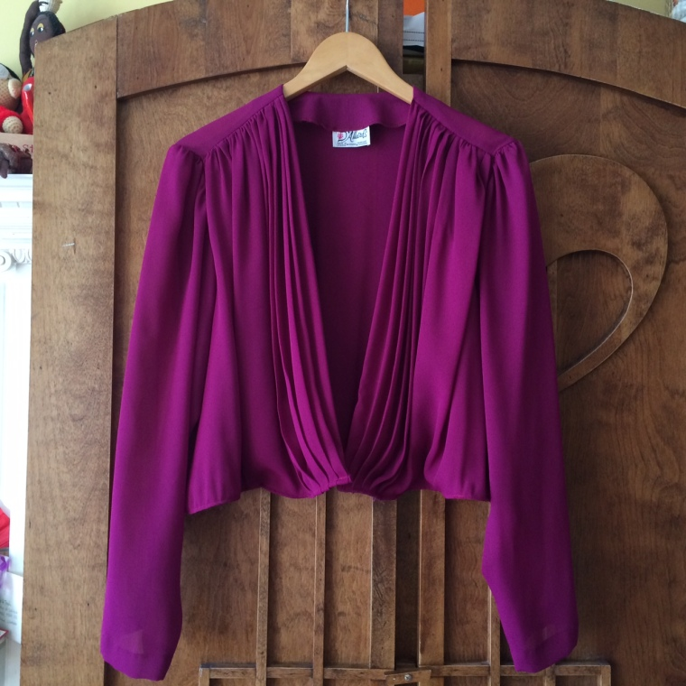 After- Cardigan blouse