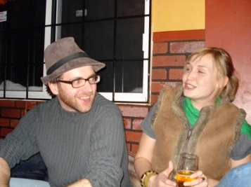Veronika & Cam (Veronika is wearing the vest in 2007)