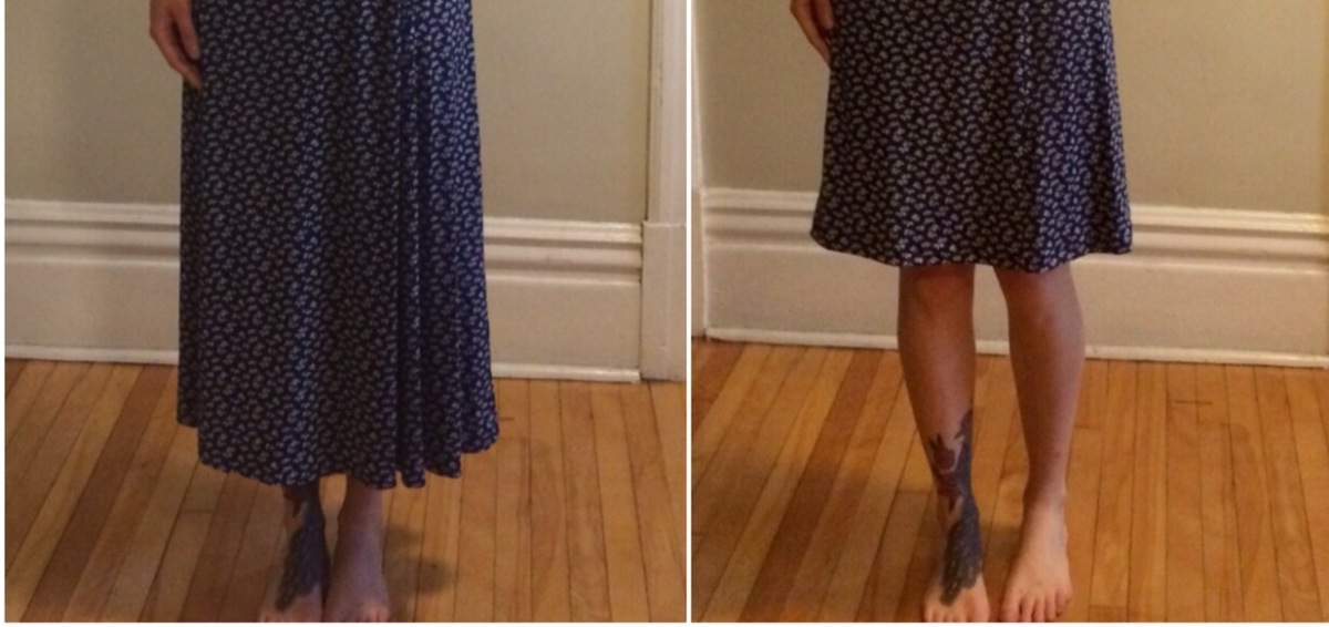 Blue Nightingale Dress (Sewing-It-Forward)