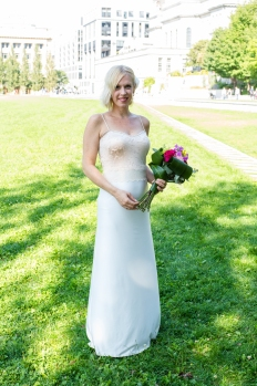 My wedding dress! (Photography by Matthew Perrin)